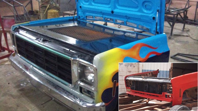 How To Turn Your Beater Truck Into A Sweet BBQ