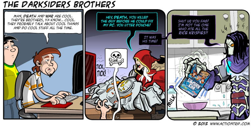Sunday Comics: Better With Kinect