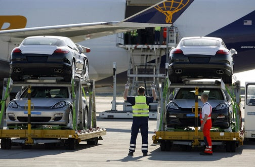 How To Load 31 Porsches Into A Cargo Plane