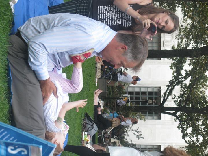 Gossip Merchants Love to Frolic in the Park Too