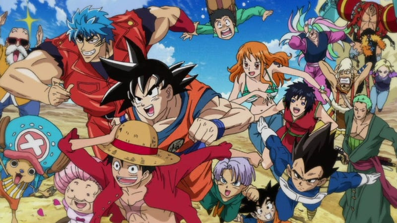 One Piece and Dragon Ball Z Collide in this TV Special
