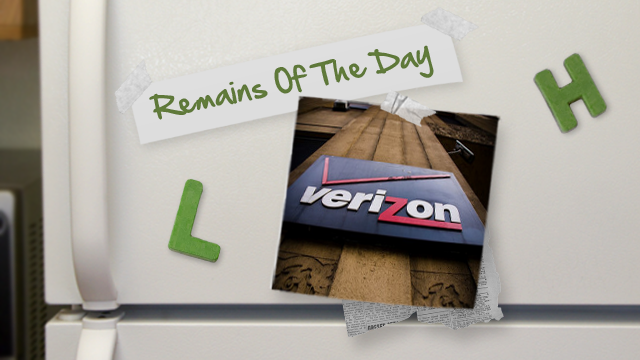 Remains of the Day: Verizon Will Grandfather Unlimited Data, Won't Subsidize Your Phone