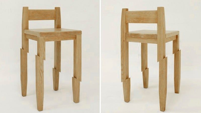 Not Even a Samurai's Wraith Can Fell This Beautiful Wooden Chair