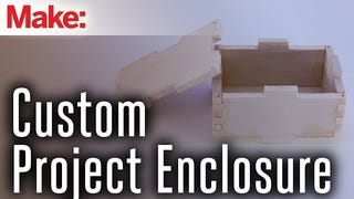 Build a Custom Wood Housing for Any Electronics Project
