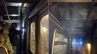 A Giant Drill Came This Close to Tearing Through a Packed NYC Subway Car