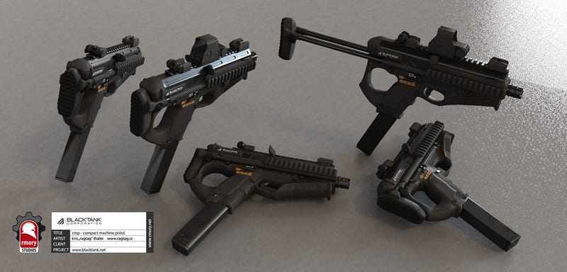 These Men Design Video Game Guns for a Living