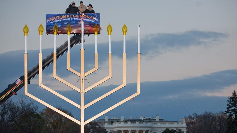 National Menorah Vastly Overcompensating For Something