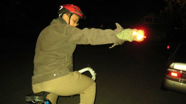 These DIY Biking Signal Gloves Make Sure Every Car Sees Your Hand Signals