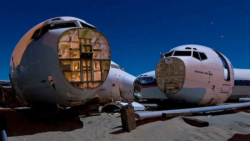 The World's Most Bizarre Aircraft Graveyards