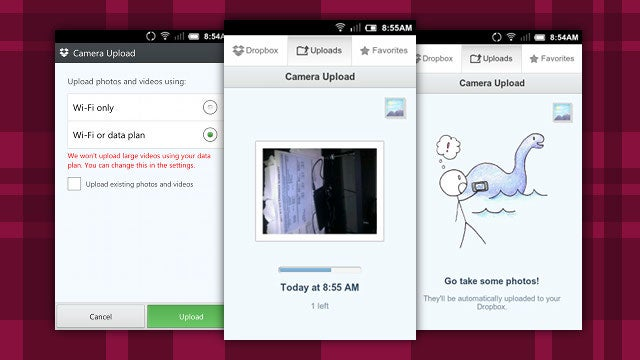 Dropbox for Android Gets Automatic Photo Syncing, Drops File Size Limits
