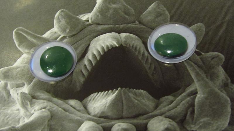 Deep Sea Fauna with Googly Eyes