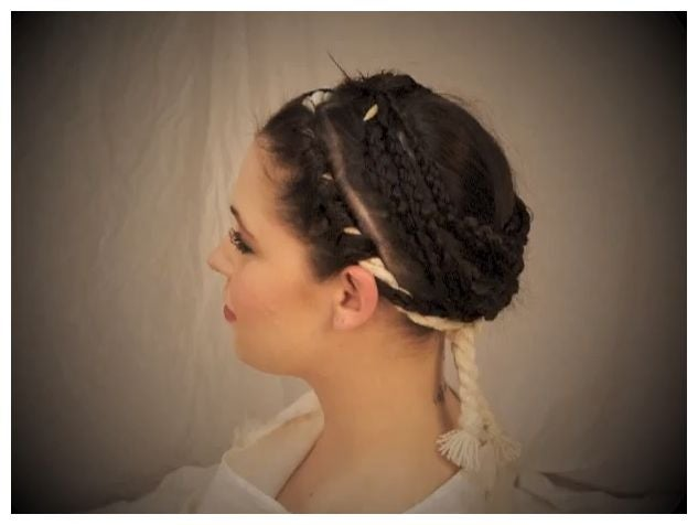 Ancient Roman Vestal Virgin hairstyle re-created for very first time