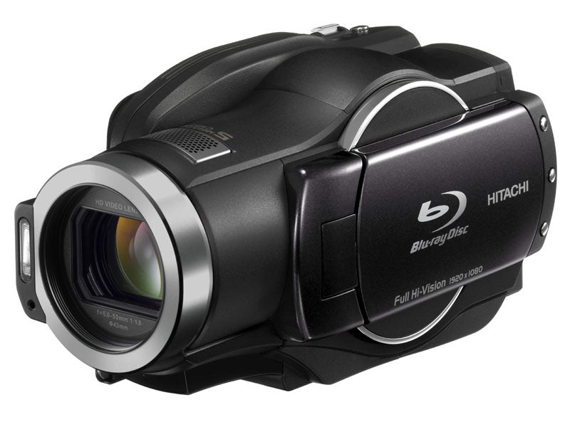 New DZ-BD9H Blu-Ray HDD Camcorder From Hitachi Tries to Make Up For Past Mistakes