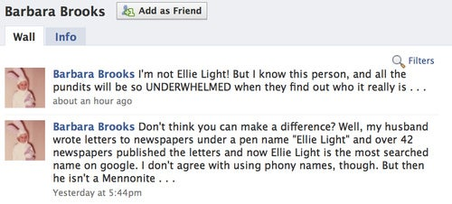 Is This Hippie the Real 'Ellie Light'?