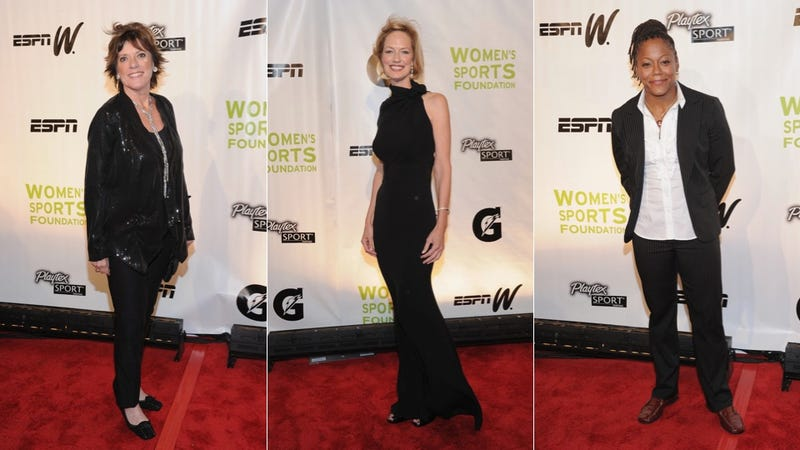 Lady Athletes Salute Sports By Baring One Shoulder