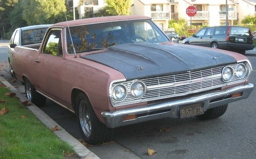 1965 Chevrolet El Camino Down On The Alameda Street