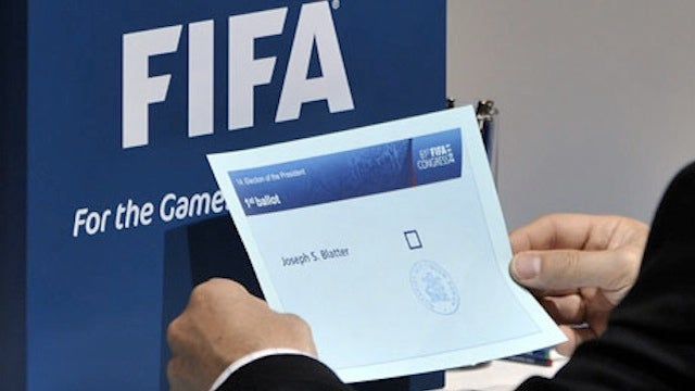 FIFA's Version Of Democracy Captured In A Single Photo