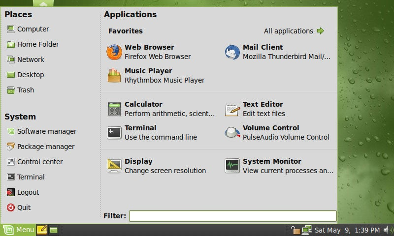 Get the Linux Mint GNOME Menu in Ubuntu