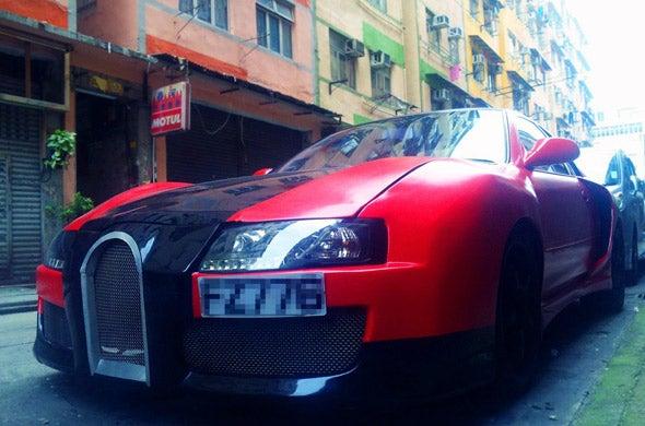 Hour Rule: Bugatti Veyron Replicas