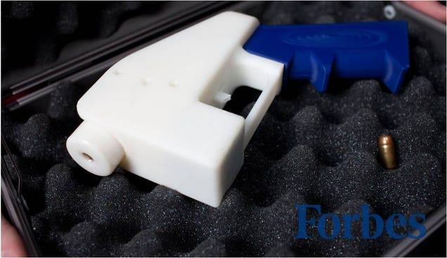 Esta es la primera pistola creada por completo con una impresora 3D