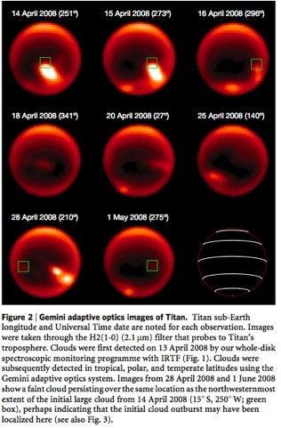 Methane Cloudburst on Titan