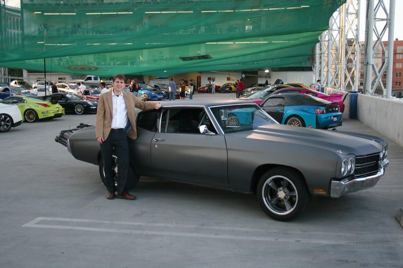 Dom Toretto S 1970 Primer Chevrolet Chevelle Ss