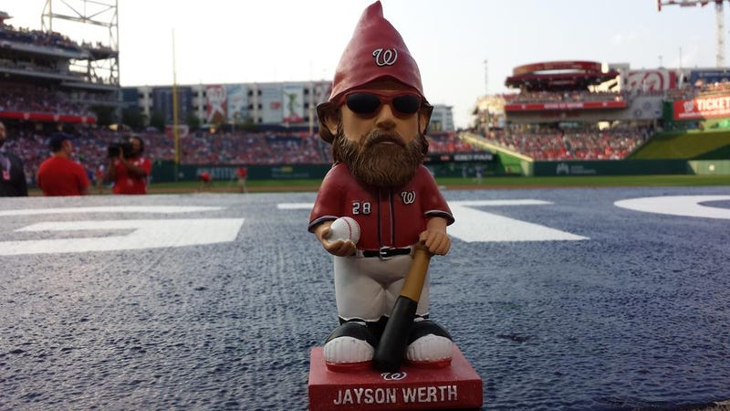 Nats Fans Went A Little Crazy Over Jayson Werth Gnomes