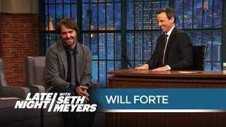 Will Forte Gave a Hilariously Offensive Toast at Seth Meyers' Wedding