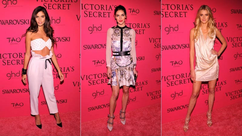 Hideous Dresses and Alien Chic at the Victoria's Secret After Party