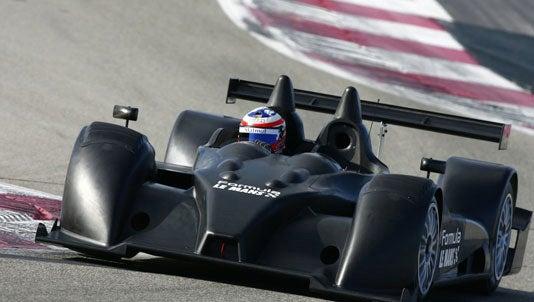 Corvette-Engined Formula Le Mans LMP2 Racer Makes Angry Noises