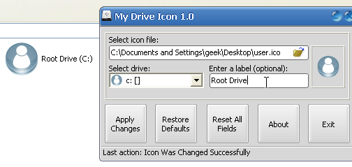 My Drive Icon Adds Custom Icons to My Computer