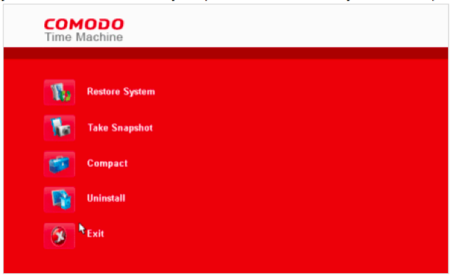 Upgrade Your System Restore with Comodo Time Machine