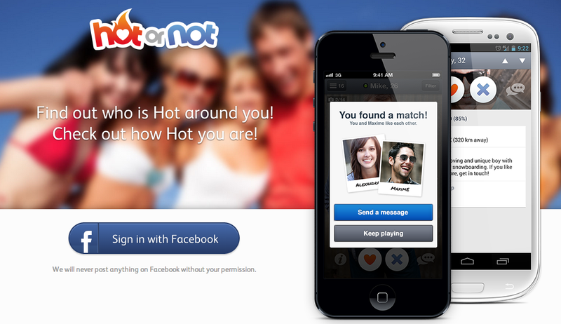 """Hot Or Not,"" A Tinder Copycat, Is Climbing the App Charts [Update]"