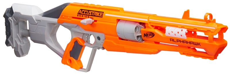 Nerf's New Accustrike Blasters Use Redesigned Darts For Improved Accuracy