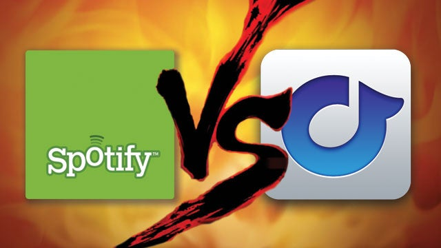 Pitting Spotify Against Rdio, Rdio's Library Comes Out on Top