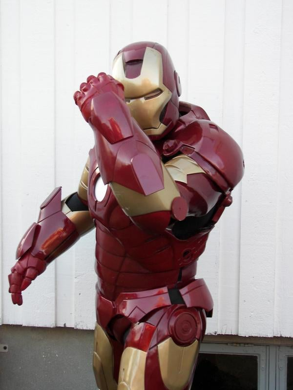 Homemade Iron Man Suit Can Probably Kick Real Tony's Ass (Tony From the Pizza Place)