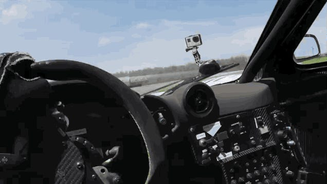 This Is What It's Like To Thrash A McLaren F1 GTR On A Track