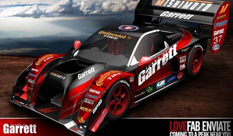 This Insane Pikes Peak Racer Is Actually A Corvette-Powered Acura NSX