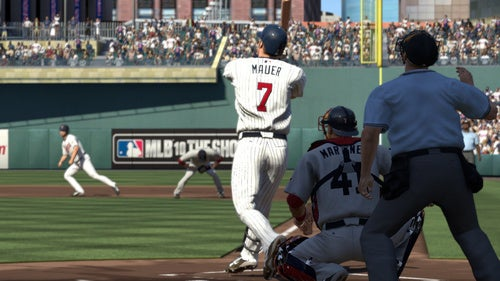A.L. MVP Joe Mauer is MLB 10 The Show's Cover Man