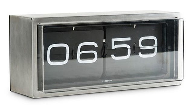 This Stainless Steel Alarm Clock Can Survive A Morning Mauling