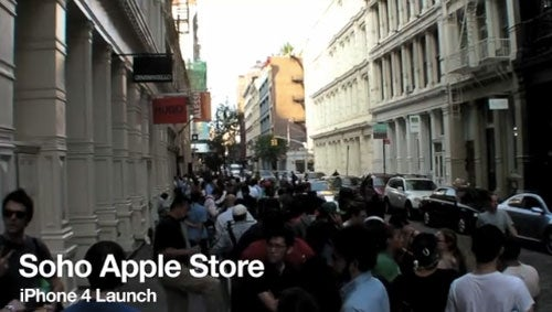 The Incredibly Slow, Incredibly Hot Soho iPhone 4 Line