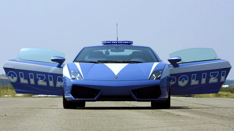 Would You Become A Police Officer To Drive This Gallardo Everyday?