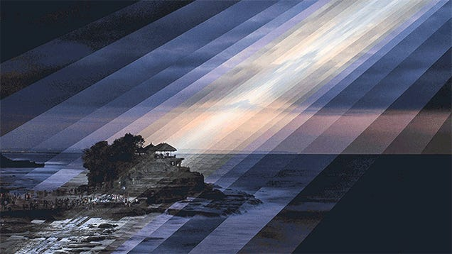 These Mesmerizing GIFs Show the Shimmering Passage of Time