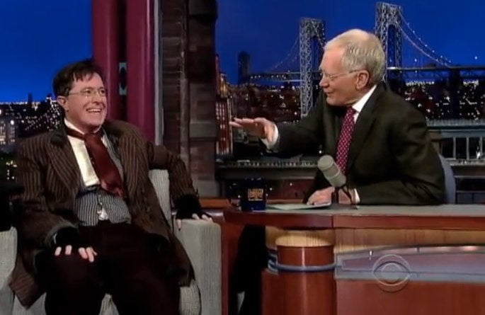 Stephen Colbert Is Reportedly the Frontrunner to Replace Letterman