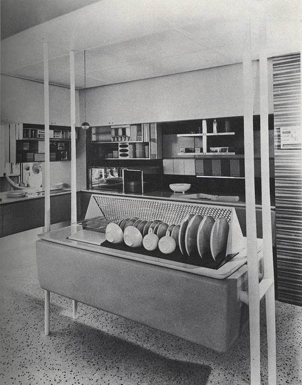 The Kitchen of the Future as Seen by Mad Men in 1962