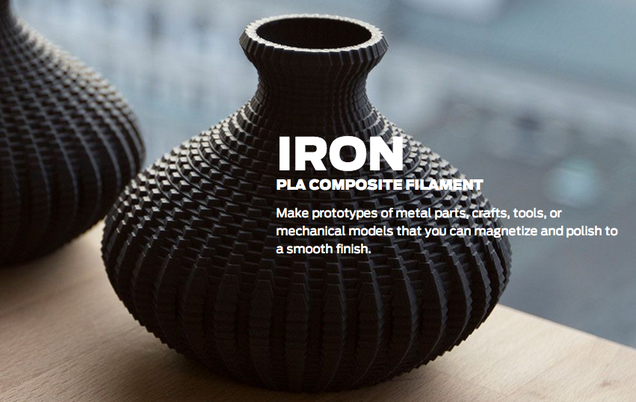 Makerbot Is Letting You 3D Print With Metal, Limestone, and Wood