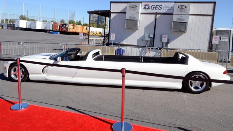 This Is The World's Longest Dodge Viper