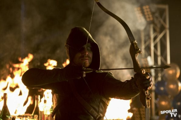 Arrow Episode 1.10 Promo Photos