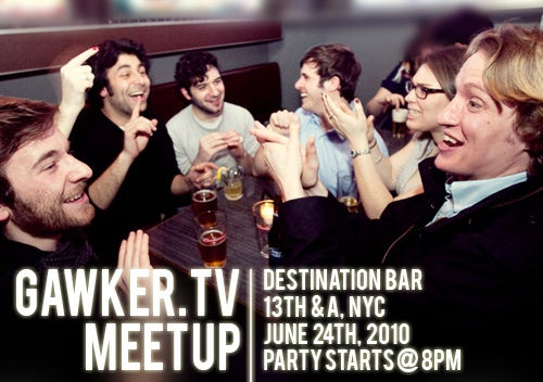 You're Invited to Gawker.TV's June Meetup!