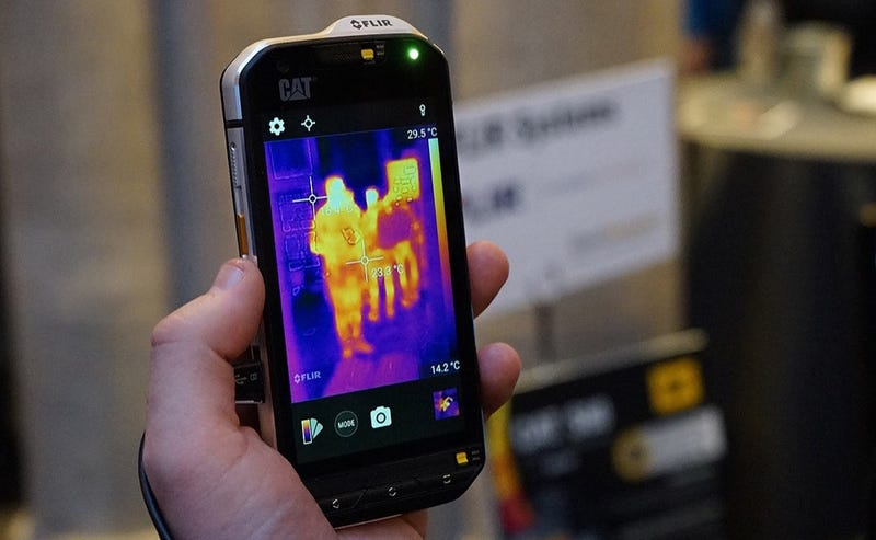 Caterpillar Releases First Mobile Phone WIth Thermal Imaging